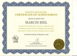 Certyfikat kamadyjski